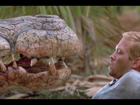 【沃特】4分鍾看完《驚世巨鳄2》搶劫銀行的劫匪對戰巨鳄