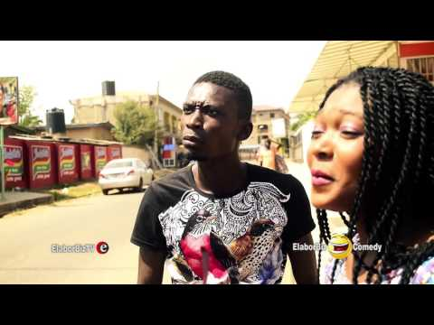 GHANA Comedy - Stammerer goes after a beautiful girl.