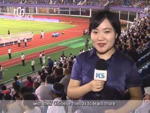 02 Youth soccer tournament promotes sport in China 青年足球锦标赛促进中国体育发展(上海广播电视台外语频道7月18日《Shanghai Live》
