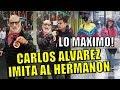 GRANDE! CARLOS ALVAREZ IMITA AL HERMANON RICARDO BELMONT Y SU OPINION DE LOS VENEZOLANOS