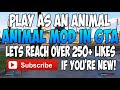 GTA 5 MODS de ANIMAL MOD de [video]