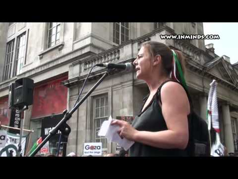Gaza Freedom Flotilla Massacre: London Rally - Sally Hunt [inminds]