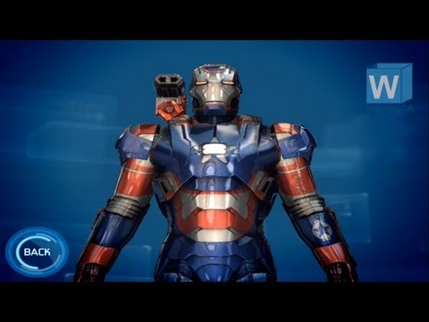 Iron Man 3: The Official Game - Iron Patriot
