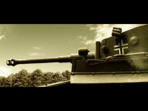 Heng Long Tiger RC Tank Model filmed with Greenscreen 1/16 Scale Panzer