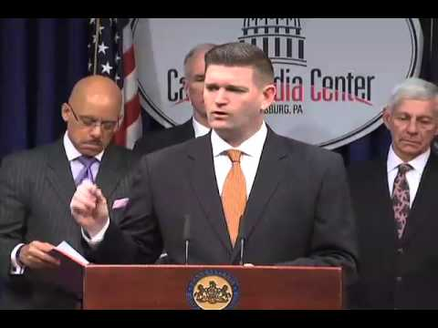 Sen. Yudichak discusses bipartisan severance tax proposal