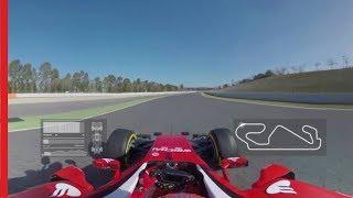 360° video with Scuderia Ferrari - Lap