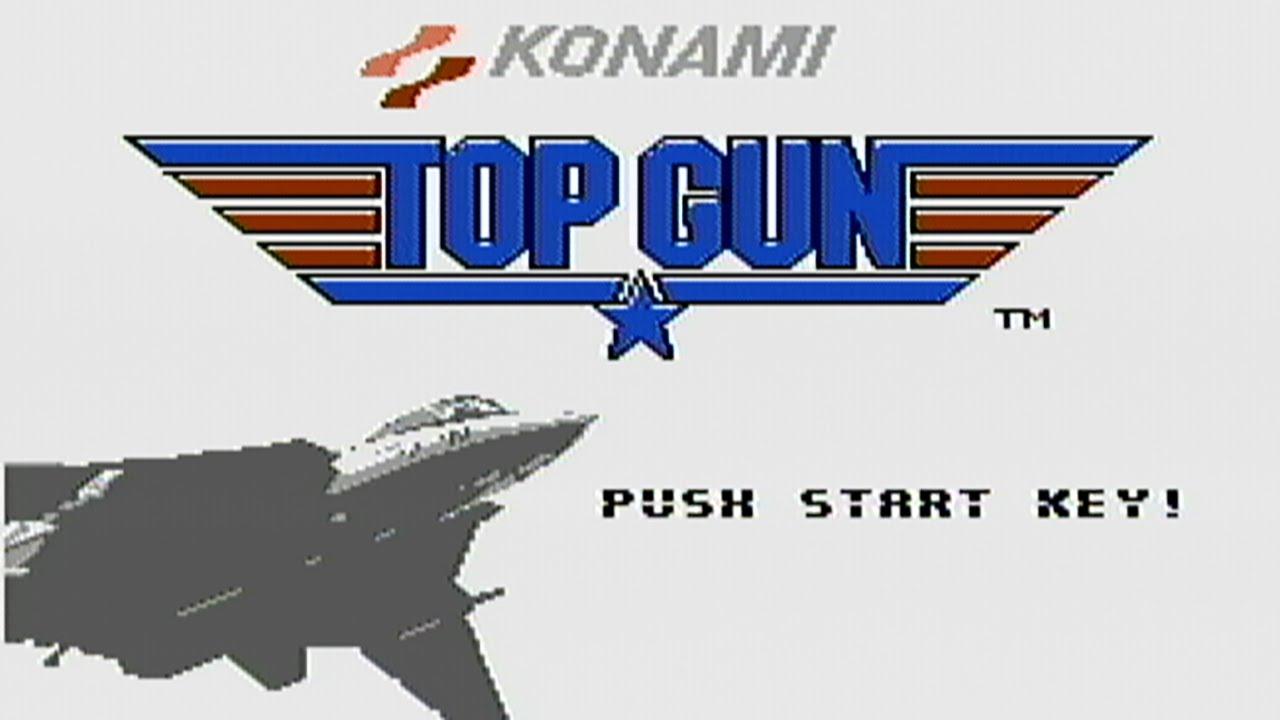Top Gun Logos Top Gun Nes Gameplay
