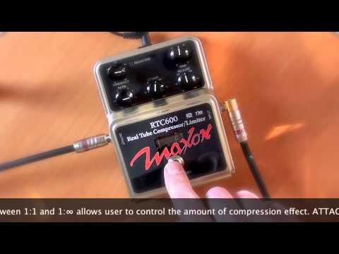 Maxon RTC600 Comp/Limiter - Telecaster to HIWATT SA112