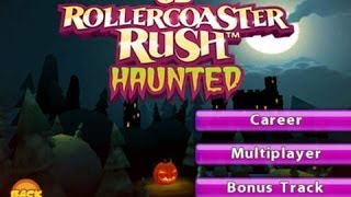 Haunted 3D Rollercoaster Rush GamePlay