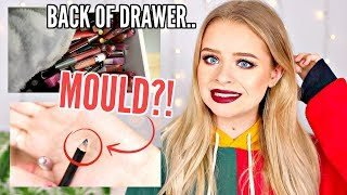 USING PRODUCTS FROM THE BACK OF MY MAKEUP DRAWERS.. | sophdoesnails