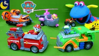 Paw Patrol Transforming Vehicles Marshall Chase Pup Wrong Toys Blaze and the Monster Machines Video