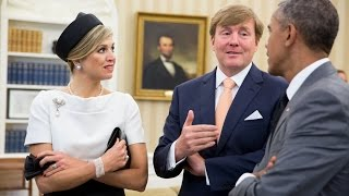 The President Meets with the King of the Netherlands