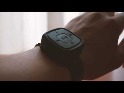 Wrist Match Style USB MP3 Music Player  -  BLACK    GEARBEST