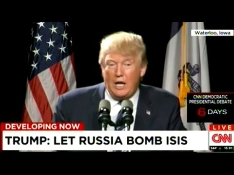 "Donald Trump ""Over Syria! We're Gonna Start World War 3? Give Me A Break!"""