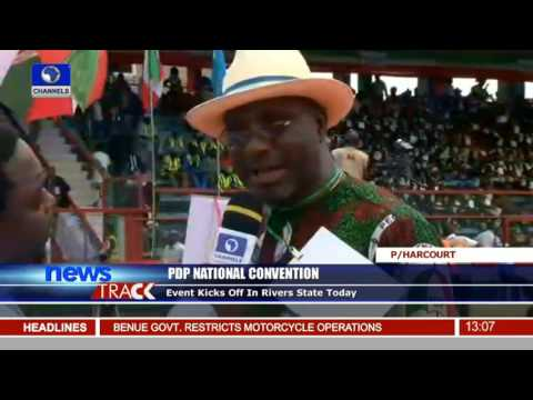 PDP National Convention Kicks Off In Rivers State