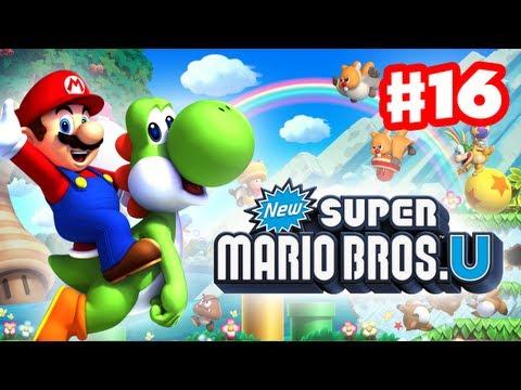 New Super Mario Bros. U - Walkthrough Part 16 - Swaying Ghost House (World 4) (Wii U Gameplay)