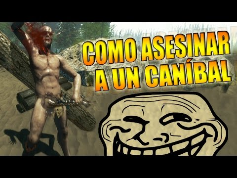 3 MANERAS DE ASESINAR A UN CANÍBAL !! - The Forest