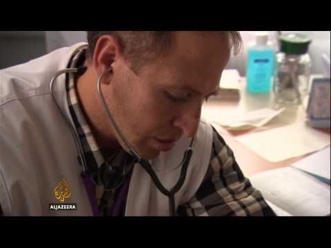 Fighting takes toll on healthcare in eastern Ukraine