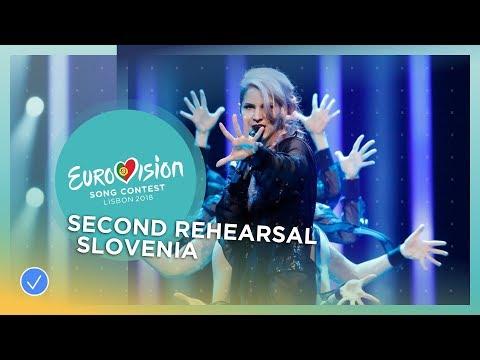 Lea Sirk - Hvala, ne! - Exclusive Rehearsal Clip - Slovenia - Eurovision 2018