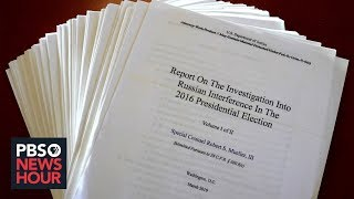 What the Mueller report says about Trump's firing James Comey