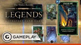 Full Match Gameplay - The Elder Scrolls: Legends