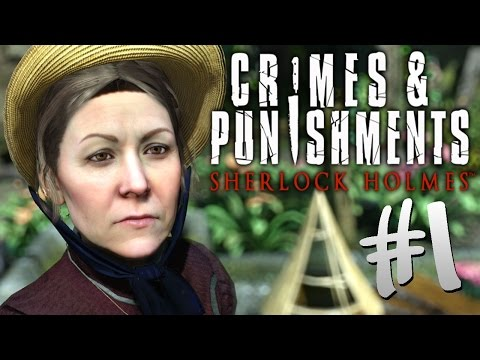 Detective KPopp as Sherlock Holmes in Crimes & Punishments #1 (Let's Play)
