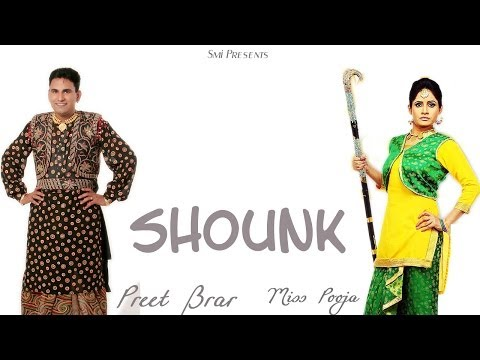 Jatt Shounk Nawaba Wale - Miss Pooja & Preet Brar (official Video) Album {petrol -2} 2014 video