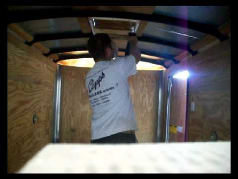 Trailer Roof Vent Install Video Youtube