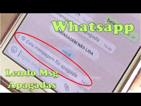 WHATSAPP - Como ler mensagens apagadas?