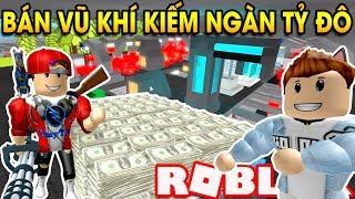 ROBLOX | Xây Dựng Nhà Máy Chế Tạo Vũ Khí Kiếm Hàng Ngàn Tỷ Đô | Combat Mining Tycoon | Vamy Trần