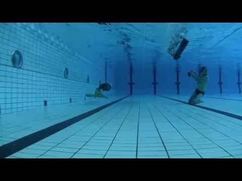 Mateusz Malina 249m Dynamic Apnea National Record Brno 2012