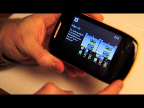 Samsung S3850 Corby II: first look