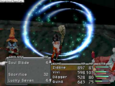 Final Fantasy 9: Lani (Killed in 1 hit!)