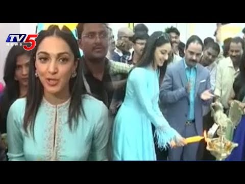 Actress Kiara Advani Launches Select Mobile Showrooms At Tirupati | TV5 News