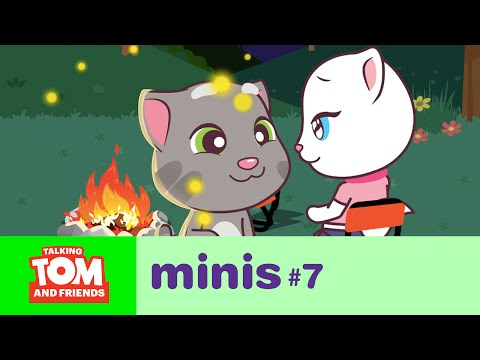 Talking Tom and Friends Minis - Camping Trip (Episode 7)