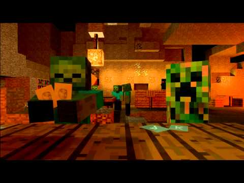 Mob Saloon - Minecraft Animation Music Videos