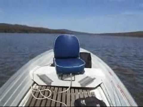 Johnson 15 hp outboard on 12' starcraft aluminum boat FAST