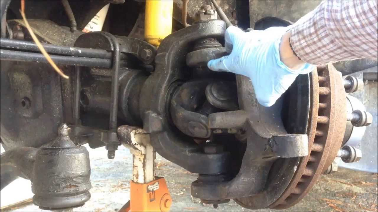 F350 4x4 Front Axle : Problem diagnosis ford superduty f part of
