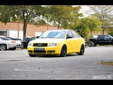Yellow Plasti Dip Whole Car - DipYourCar Pro Car Kit