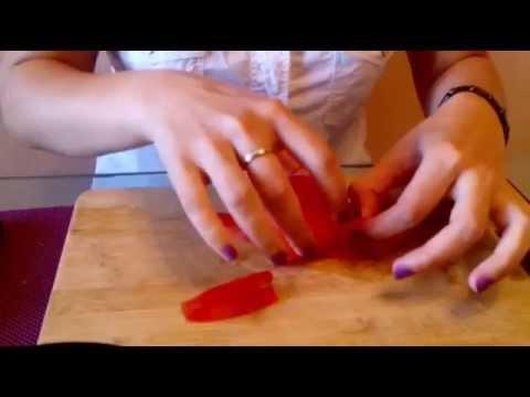 Как быстро очистить помидоры от кожицы!самый легкий способ...