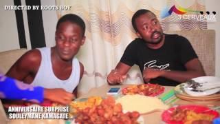 Anniversaire surprise de Souleymane Kamagate a son domicile