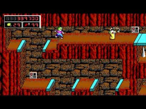 [PC] - Commander Keen 4 Secrets of the Oracle - 14 Pyramid Of The Forbidden