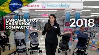 Lançamentos carrinhos compactos de 2018 | MacroBaby