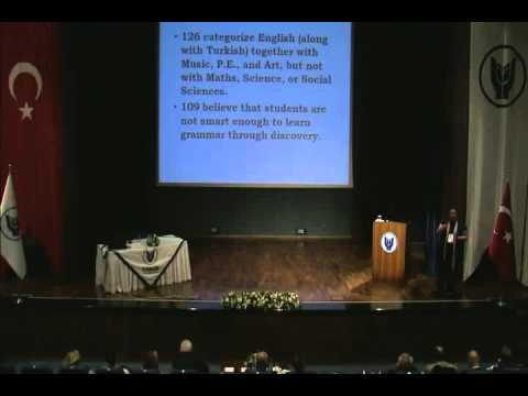Conferences and Seminars - Prof Dr Aydan Ersoz Tell me why Part 03, English Teachers in Turkey