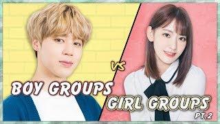 Pick One Kick One (Boy Groups vs Girl Groups) 2