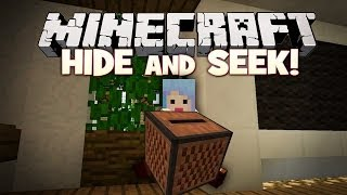 """GOTTA HIDE!""  Hide and Seek - Minecraft Mini Game"