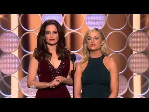 Tina Fey & Amy Pohler's Golden Glode intro ! Amazing - Best Celebrity Jokes