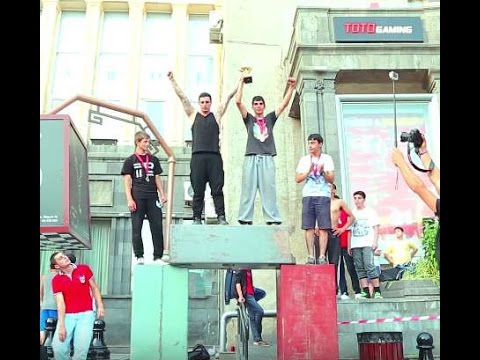 Armenian Parkour Freerunning Federation Championship 2015