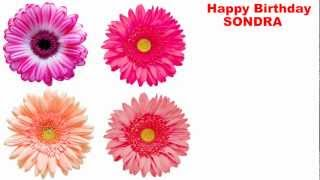 Sondra - flowers - Happy Birthday