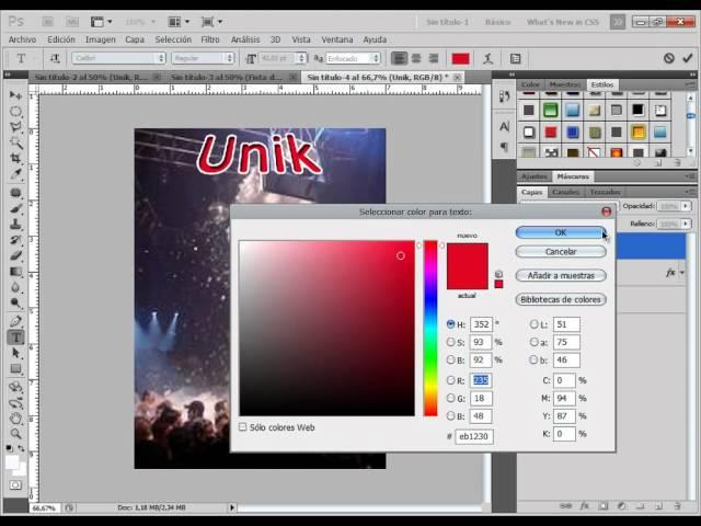 Tutorial Photoshop - Crear Invitacion Flyer, Mini Tarjeta a Evento